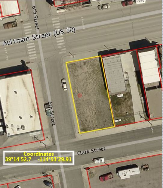 Parking Lot Lighting Cost Per Square Foot: Aultman St. Parking Lot, Ely, NV 89301