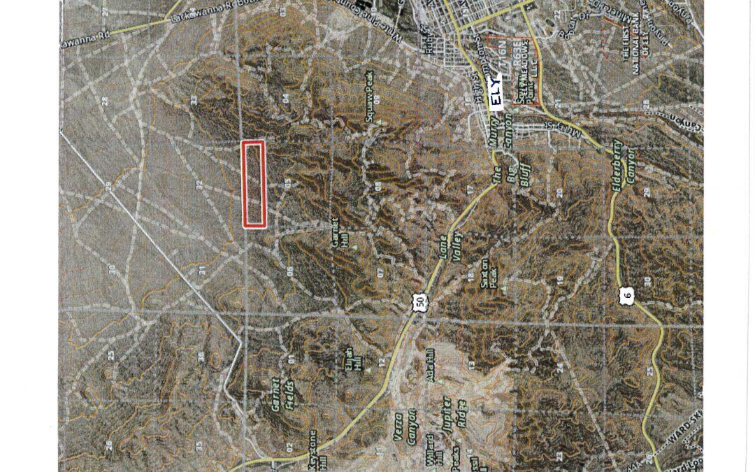 20.52 acre Mining Claim